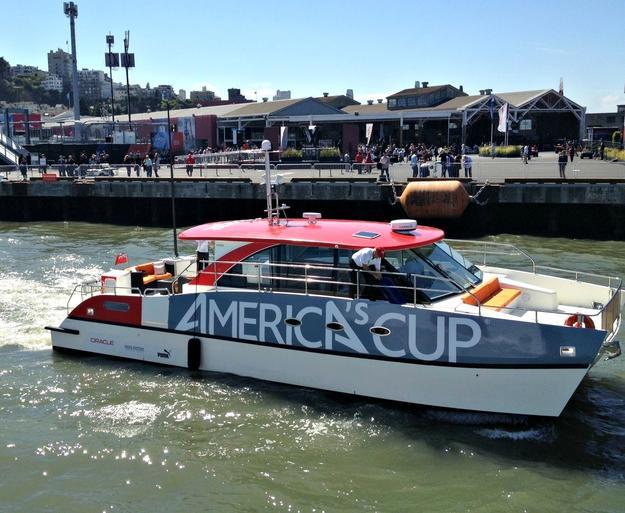americas cup - nespresso
