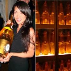 Mika Takeuchi Cristal Methuselah Champagne