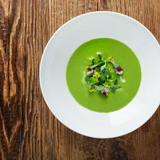 PRESS Spring Vegetable Soup (Photo: Morgan Bellinger)