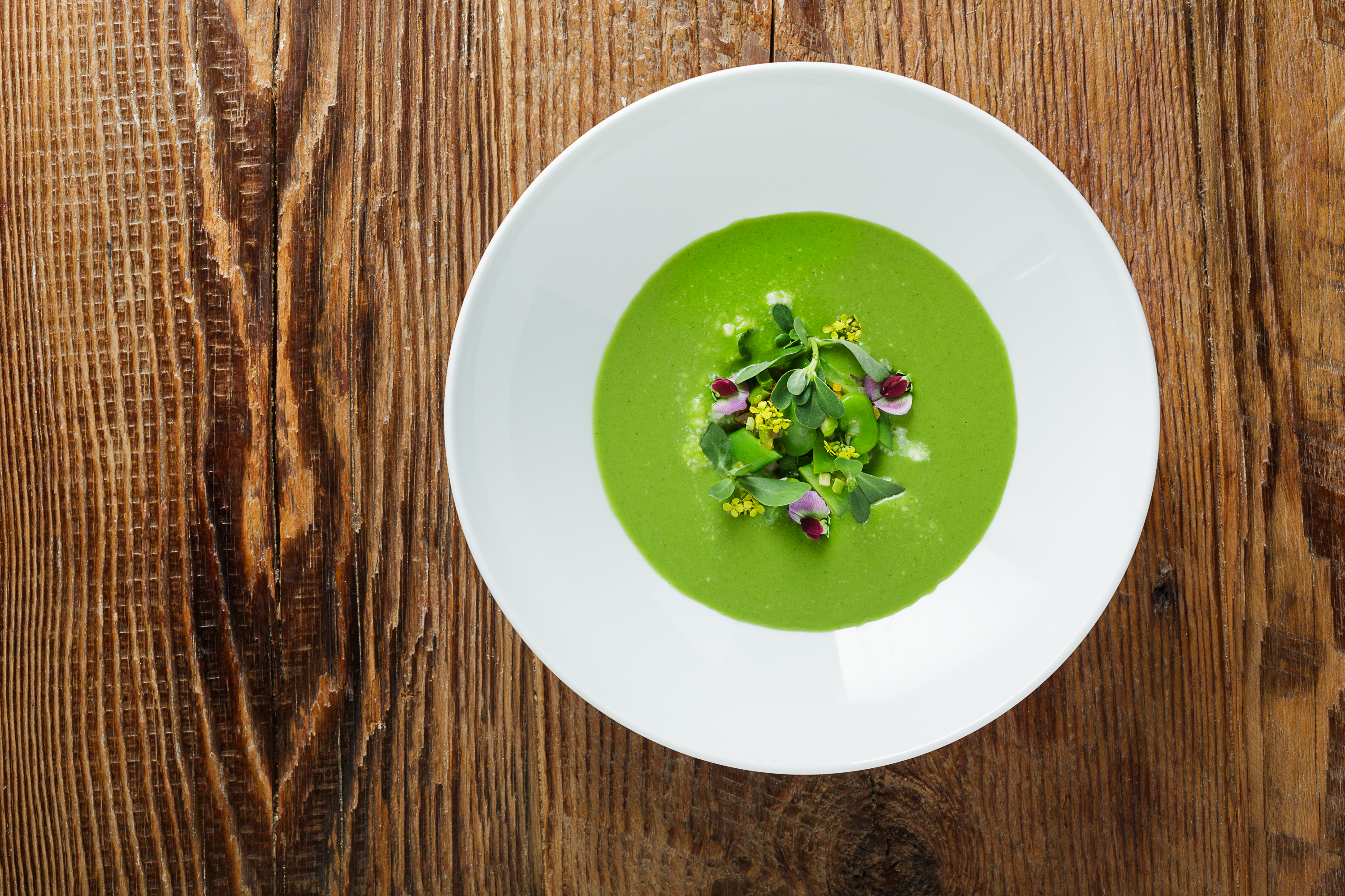 PRESS Spring Vegetable Soup (Photo: Morgan Bellinger)