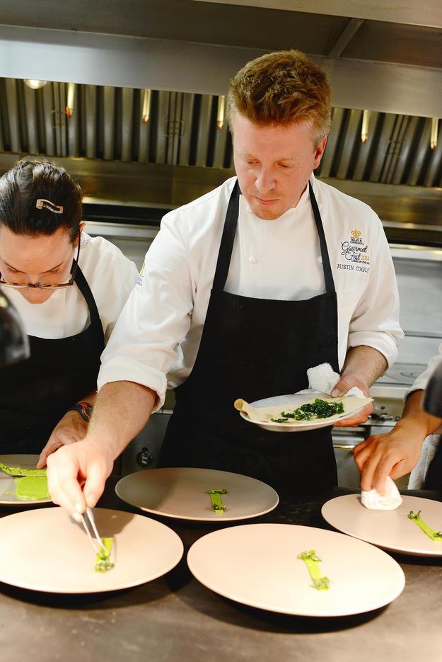 Aubergine Chef Justin Cogley