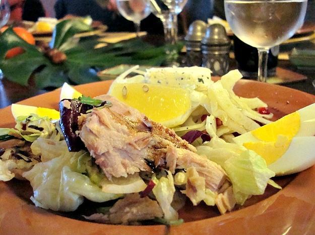 food fashionista - torre olivola Todi Italy Salad