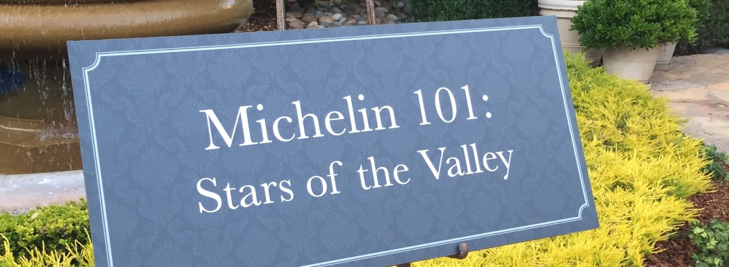The Michelin 101: Stars of the Valley Dinner at Pebble Beach Food & Wine