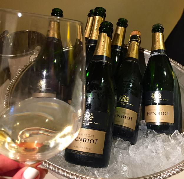 Michelin Dinner PBFW Champagne Henriot