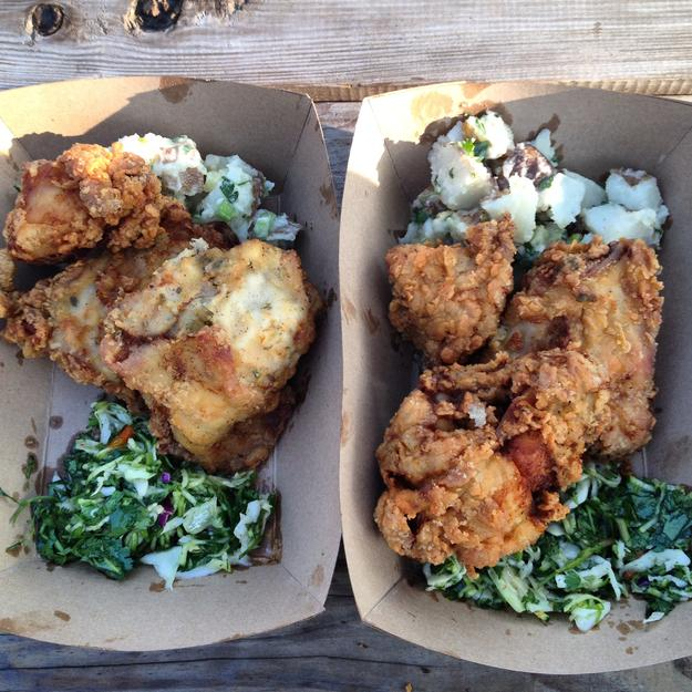 BottleRock Napa Fried Chicken