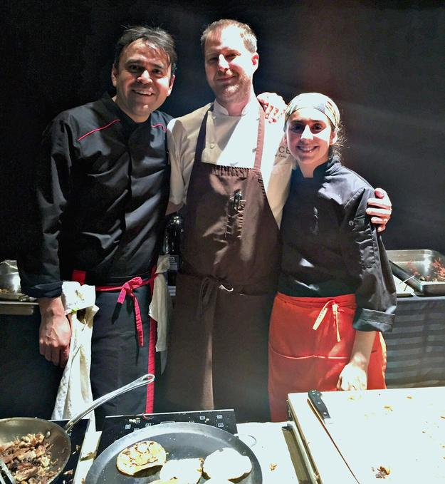 Chapulín restaurant Chef de Cuisine Alejandro Fuentes, Luce Executive Chef Daniel Corey, Ultimate Clash winner Ana Paula Oviedo Gómez