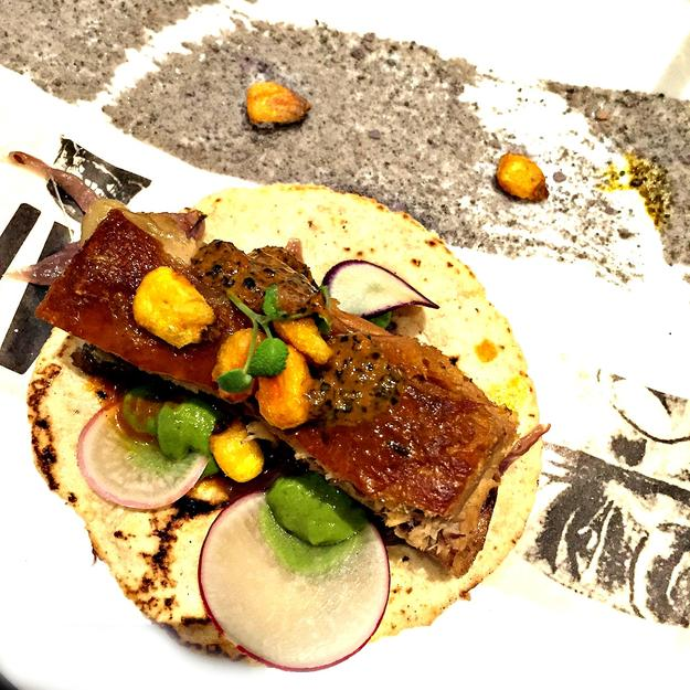 Ana Paula Oviedo Gómez Presidente InterContinental Mexico City Dish: Taco de Lechon