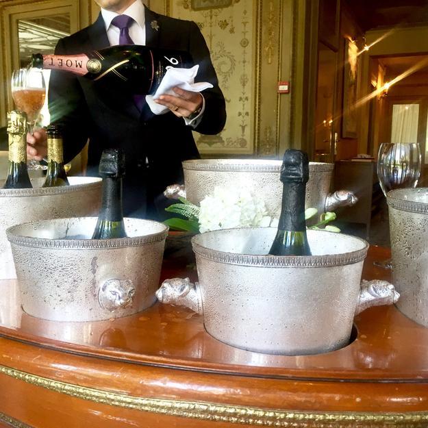Ledoyen Paviilion, Alléno Paris Champagne