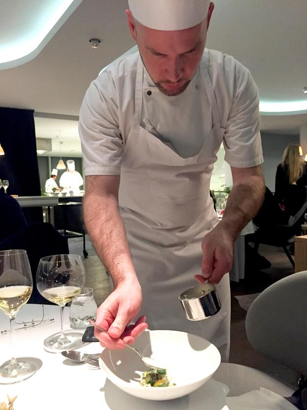 Chef Will King Smith, Copenhagen Denmark