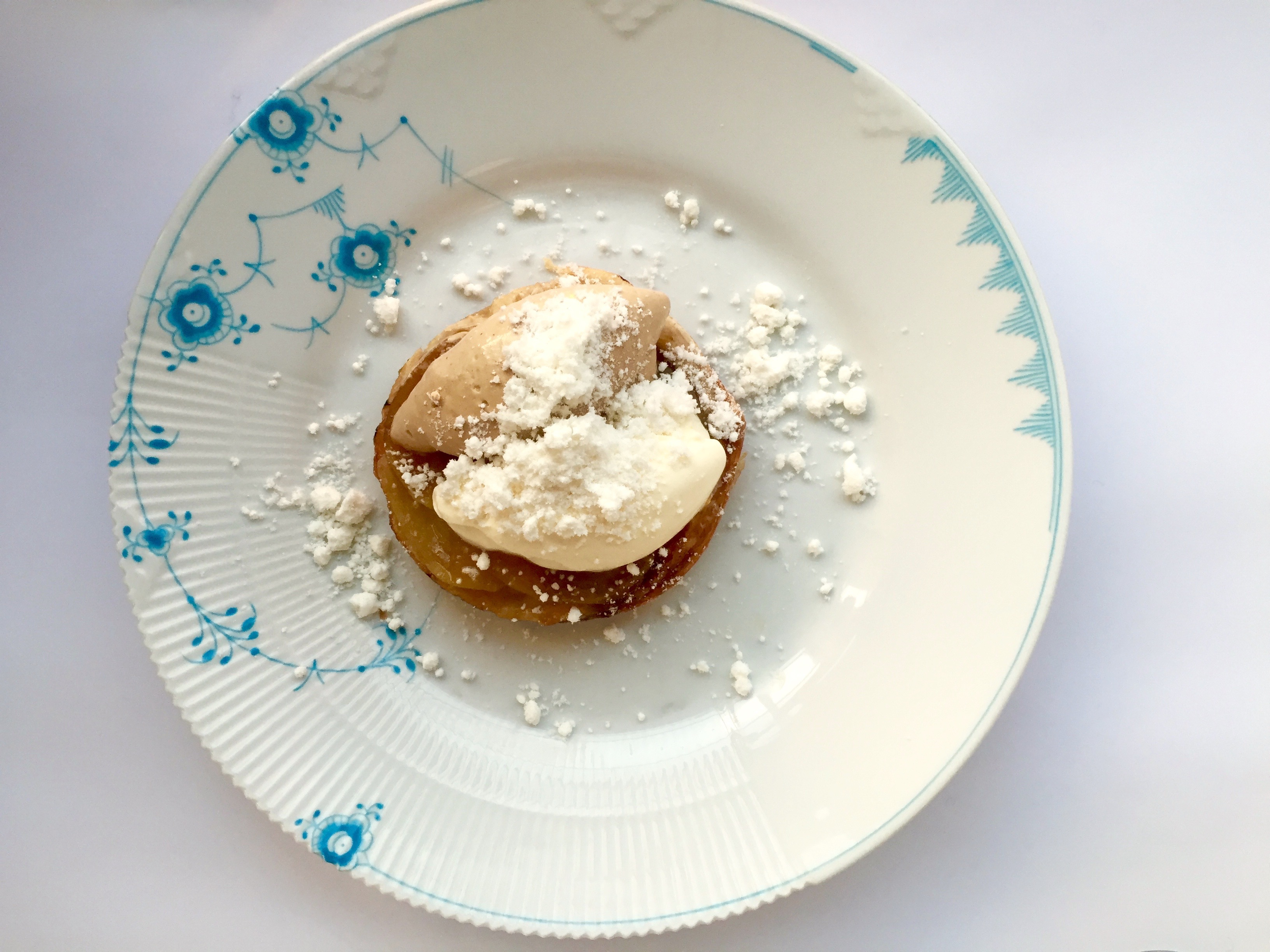 Apple Tart - Orangeriet - Copenhagen Denmark