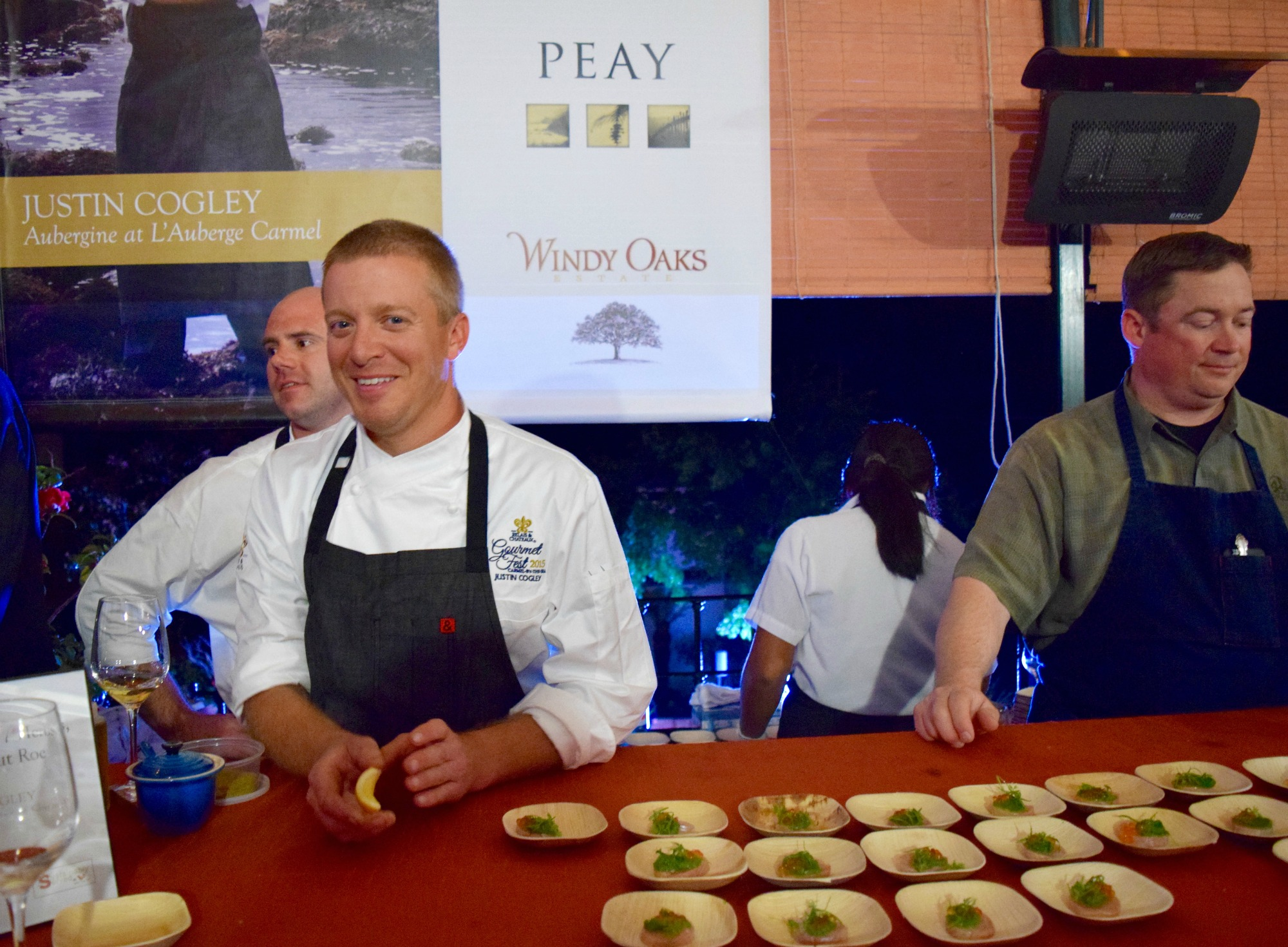 Chef Justin Cogley Aubergine Carmel Relais Chateaux