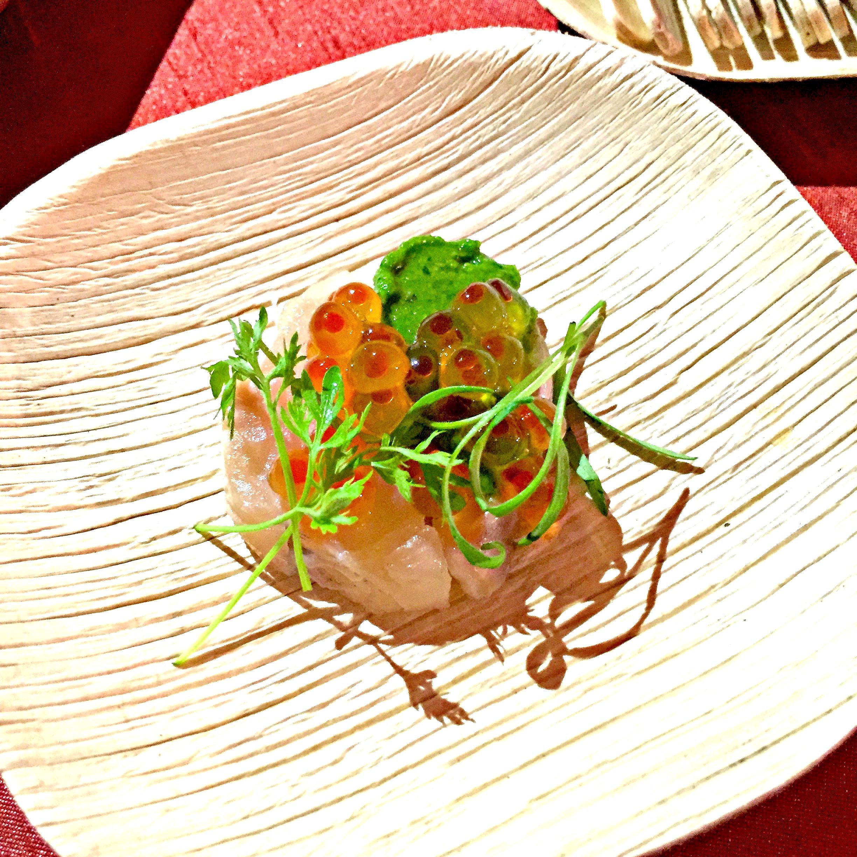 Chef Justin Cogley Aubergine Rainbow Trout