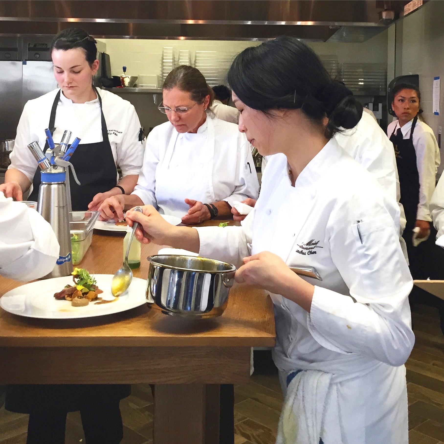 Chef Lanshu Chef (Le Mout Restaurant) Relais Chateaux