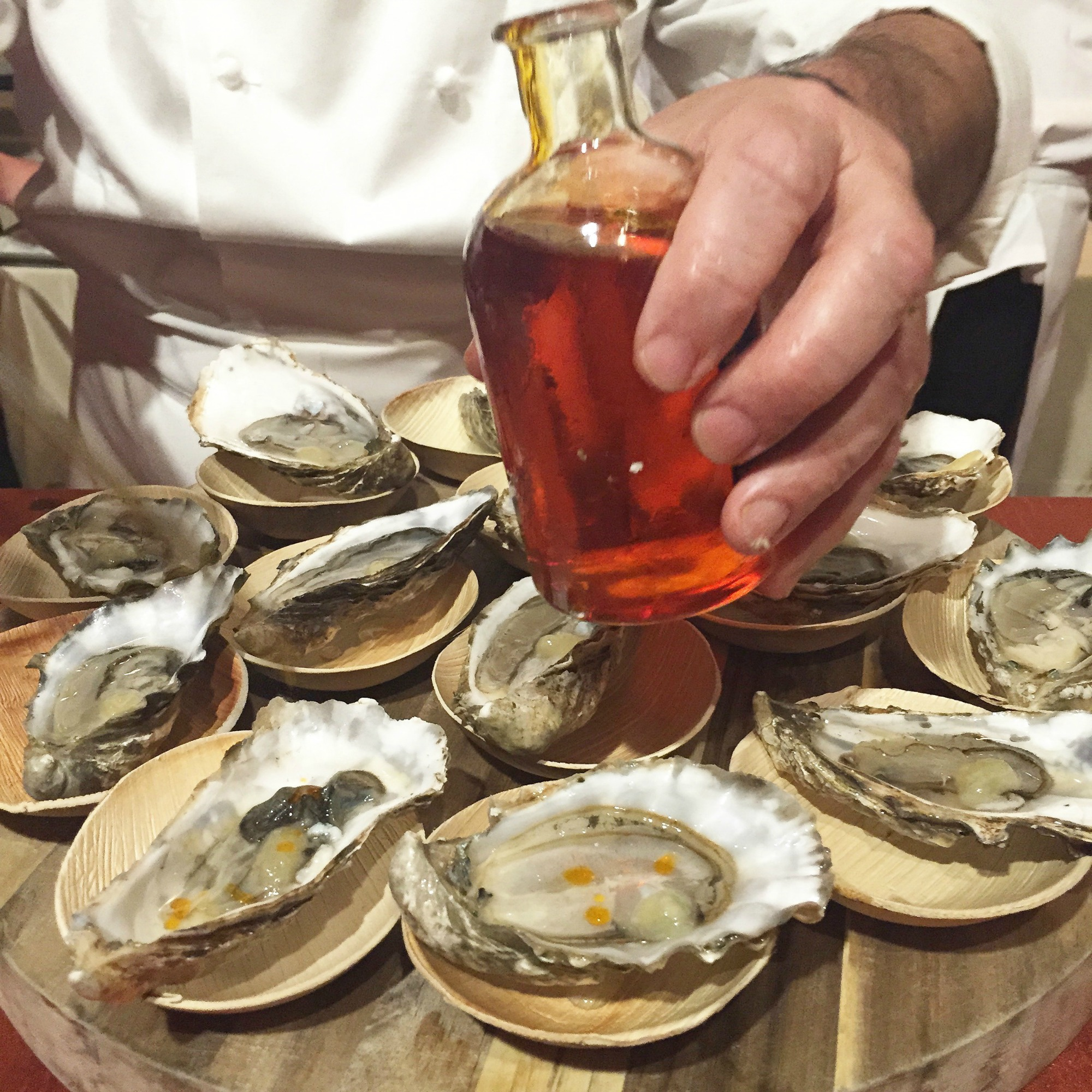 Chef Olivier Roellinger Oysters Relais Chateaux GourmetFest