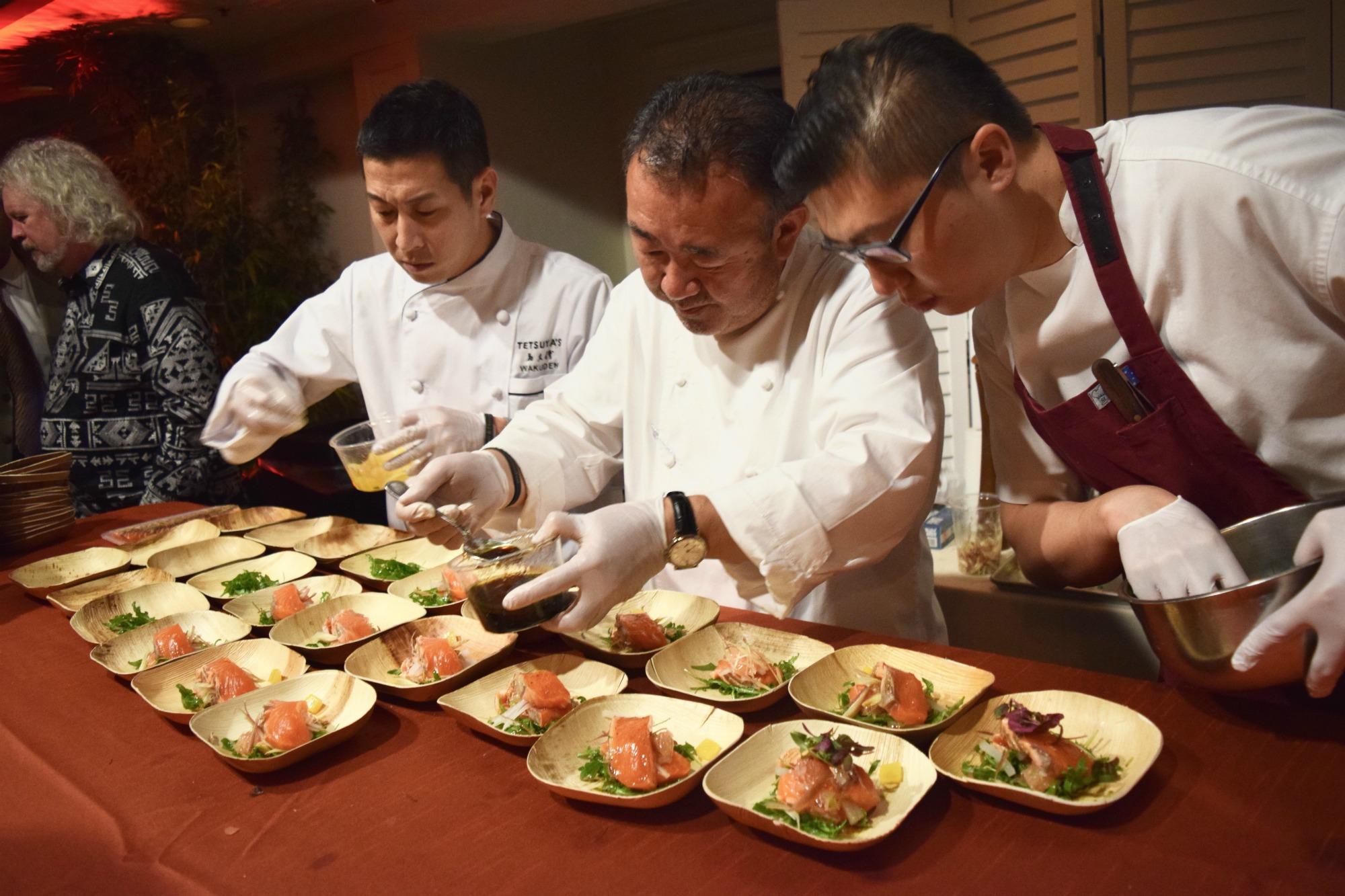 Chef Tetsuya Wakada Relais Chateaux