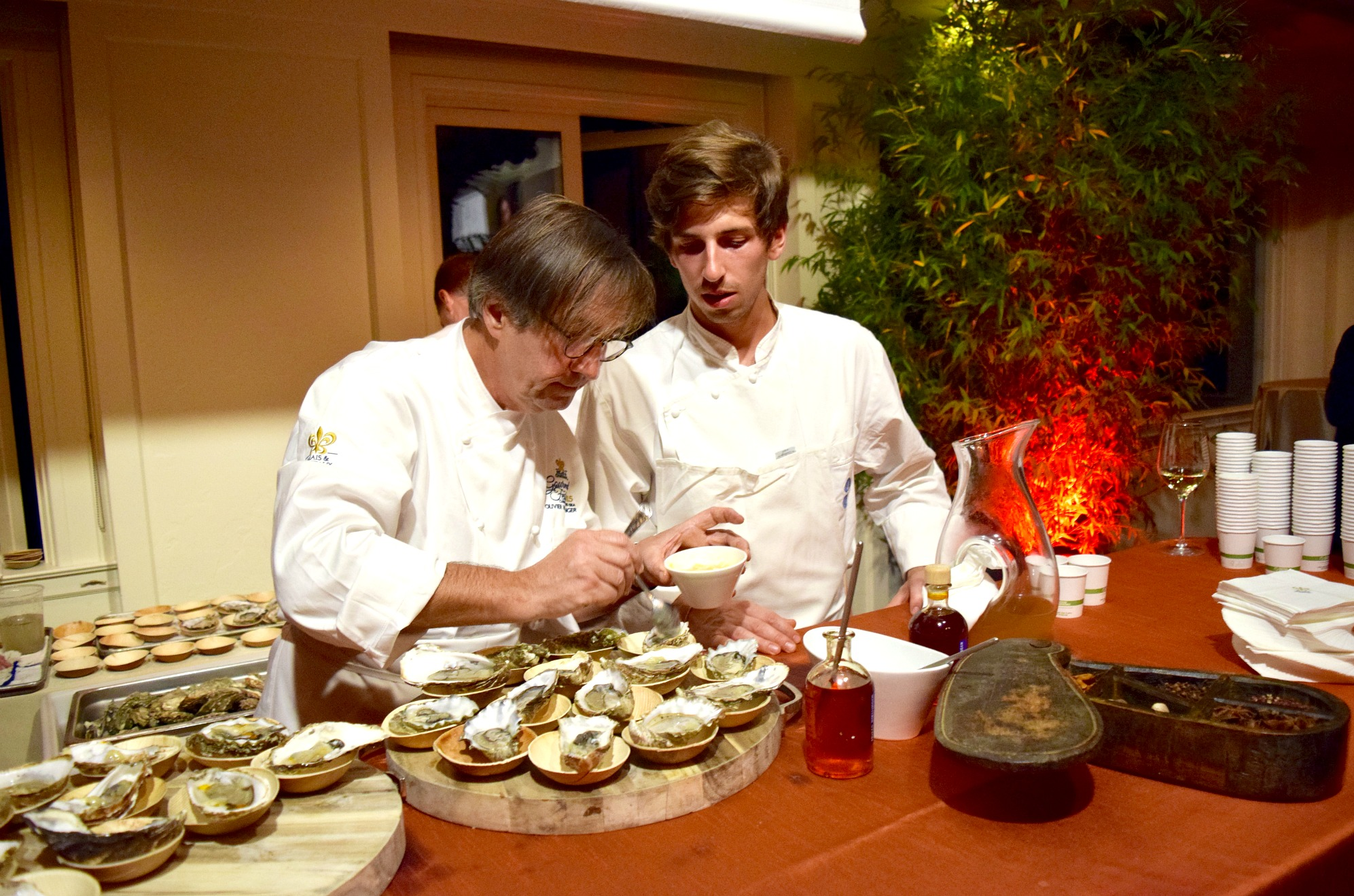 Chefs Olivier and Hugo Roellinger Relais Chateaux GourmetFest