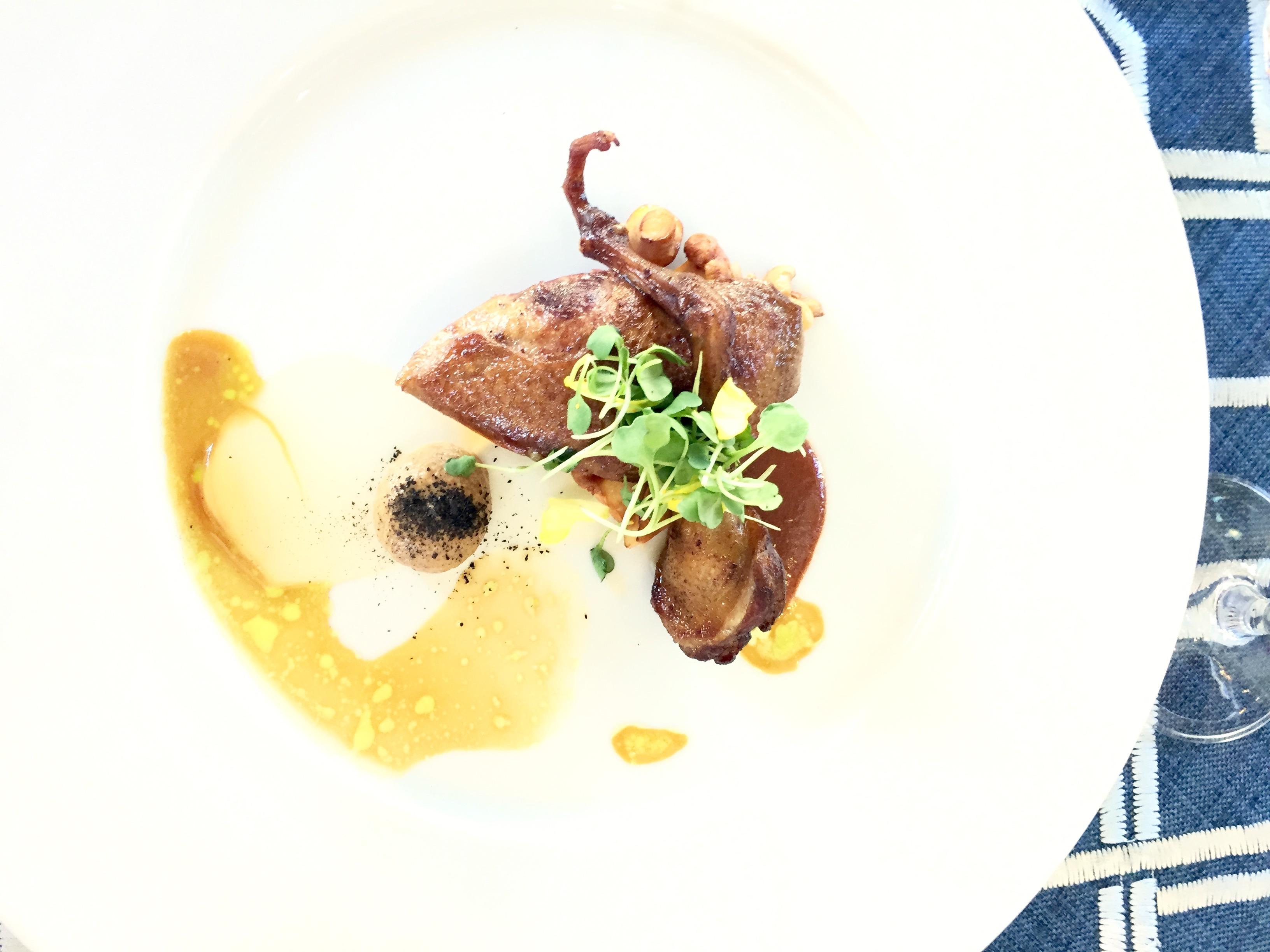 Lanshu Chen Pigeon Relais Chateaux GourmetFest