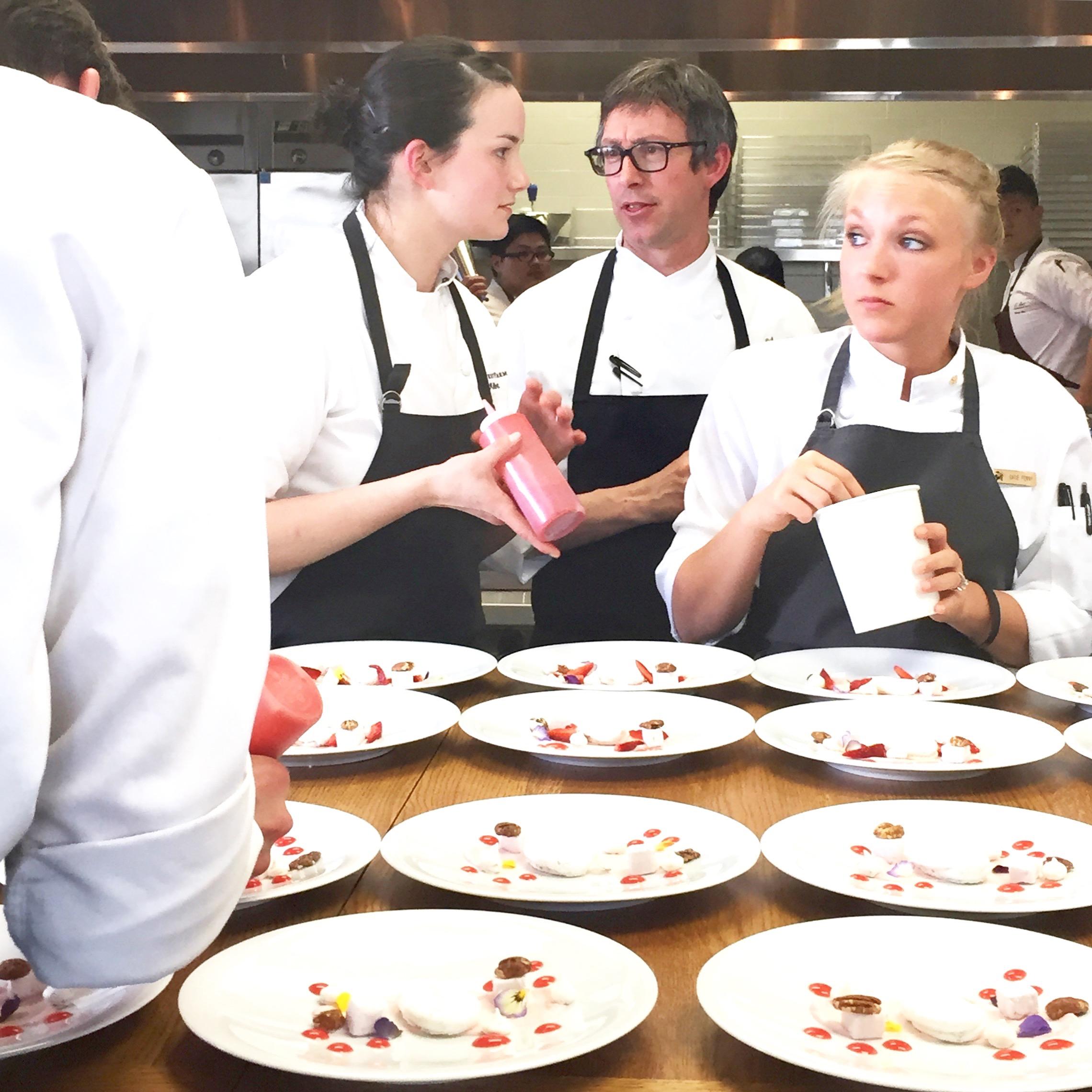 Pastry Chef Liz Miller Blackberry Farm Ron Mendoza Aubergine
