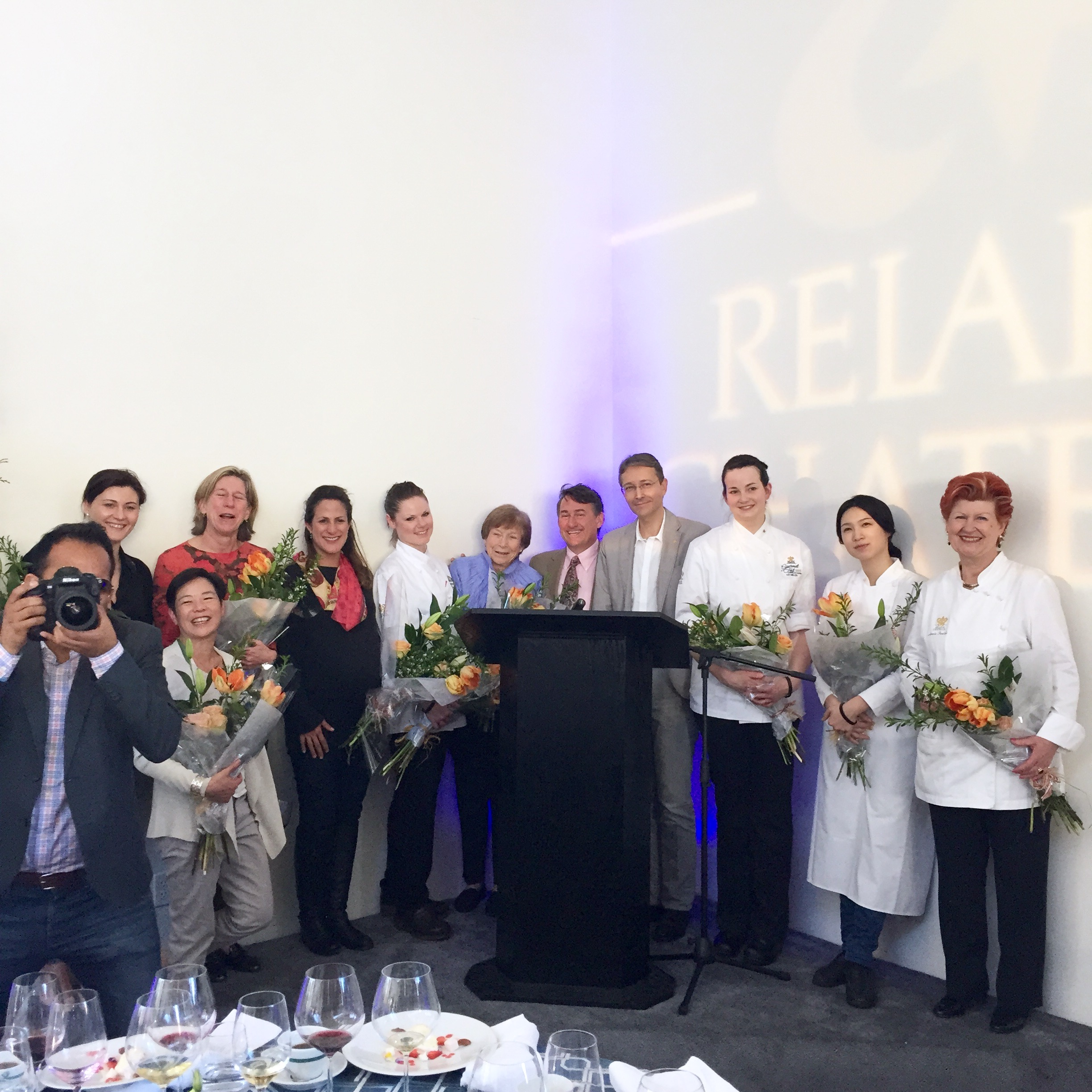 relais chateaux gourmetfest women and wine lunch