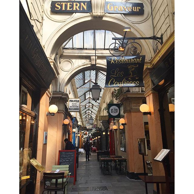 I always enjoy strolling through the Passage des Panoramas...so many treasures to uncover #PARIS #wanderlust #france #love #passagedespanoramas #france_photolovers #parisjetaime #parismonamour #foodtravel