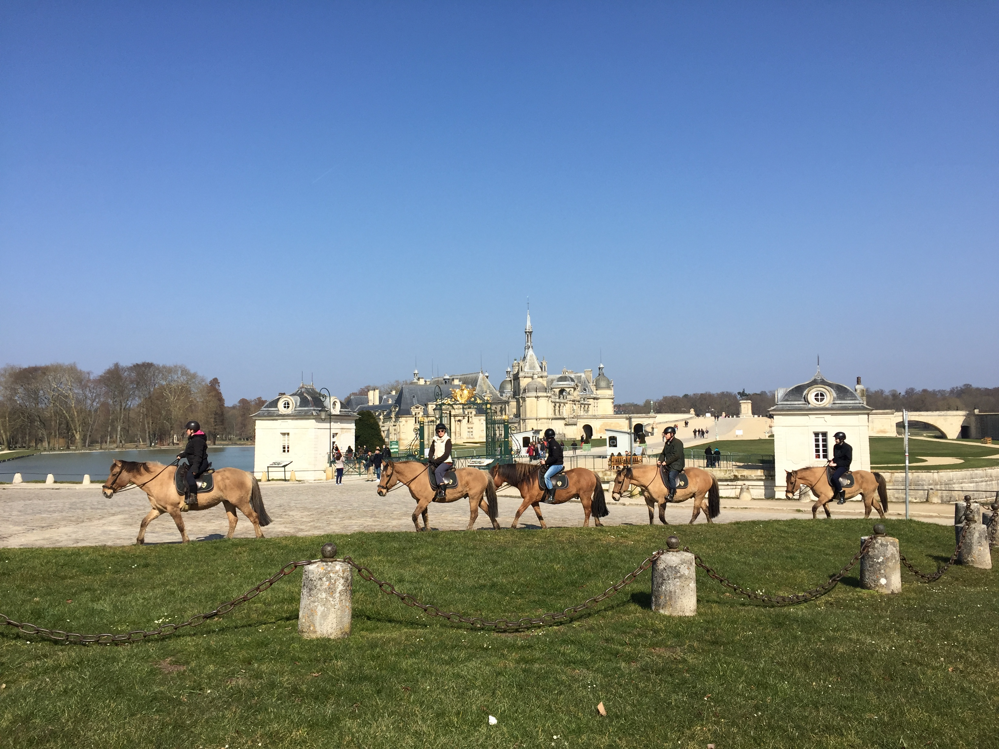 Chantilly, France Horses Travel - Food Fashionista