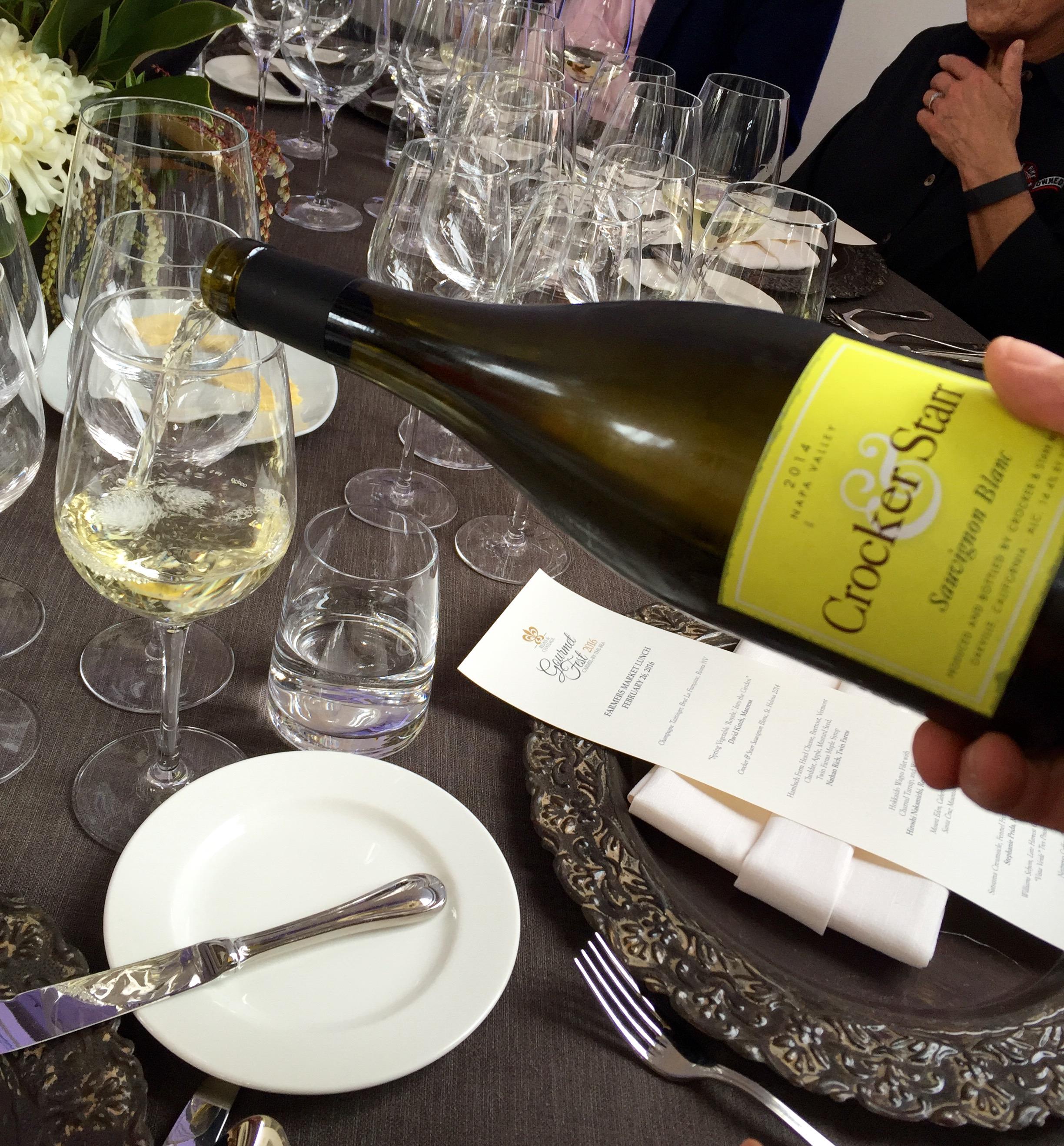 Crocker & Starr Sauvignon Blanc, St. Helena 2014
