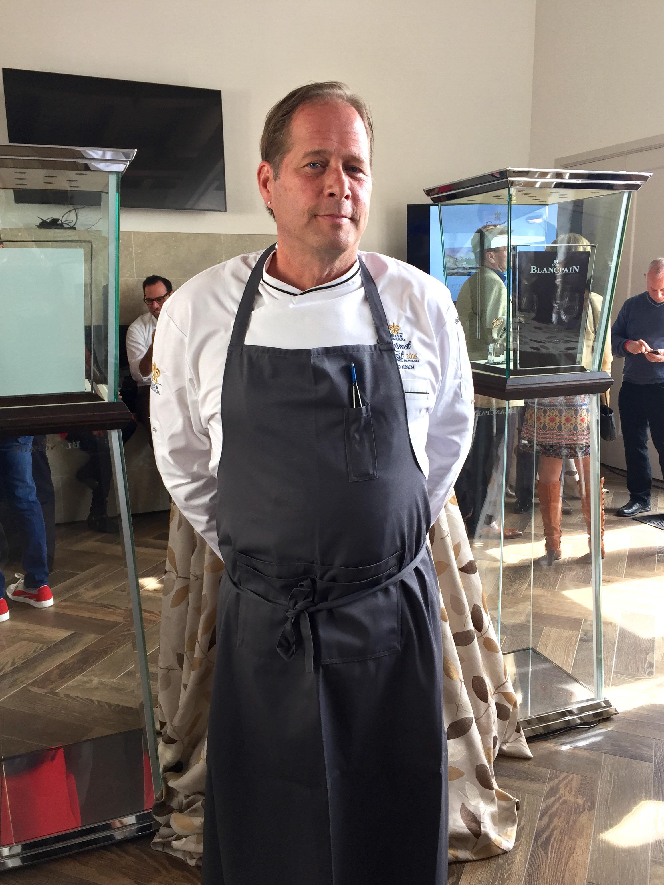 Chef David Kinch Relais Châteaux