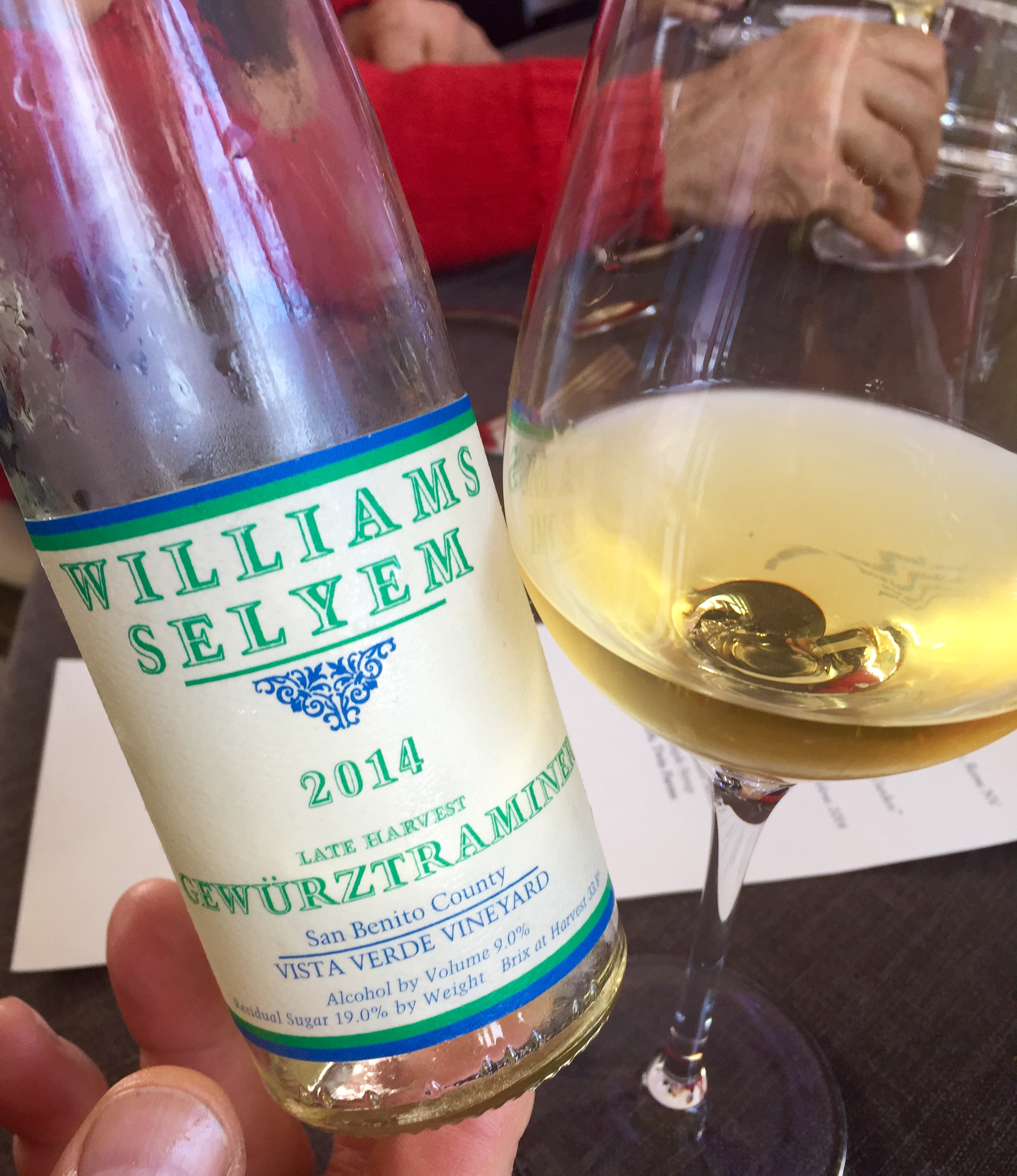 Williams Selyem, Gewurztraminer GourmetFest