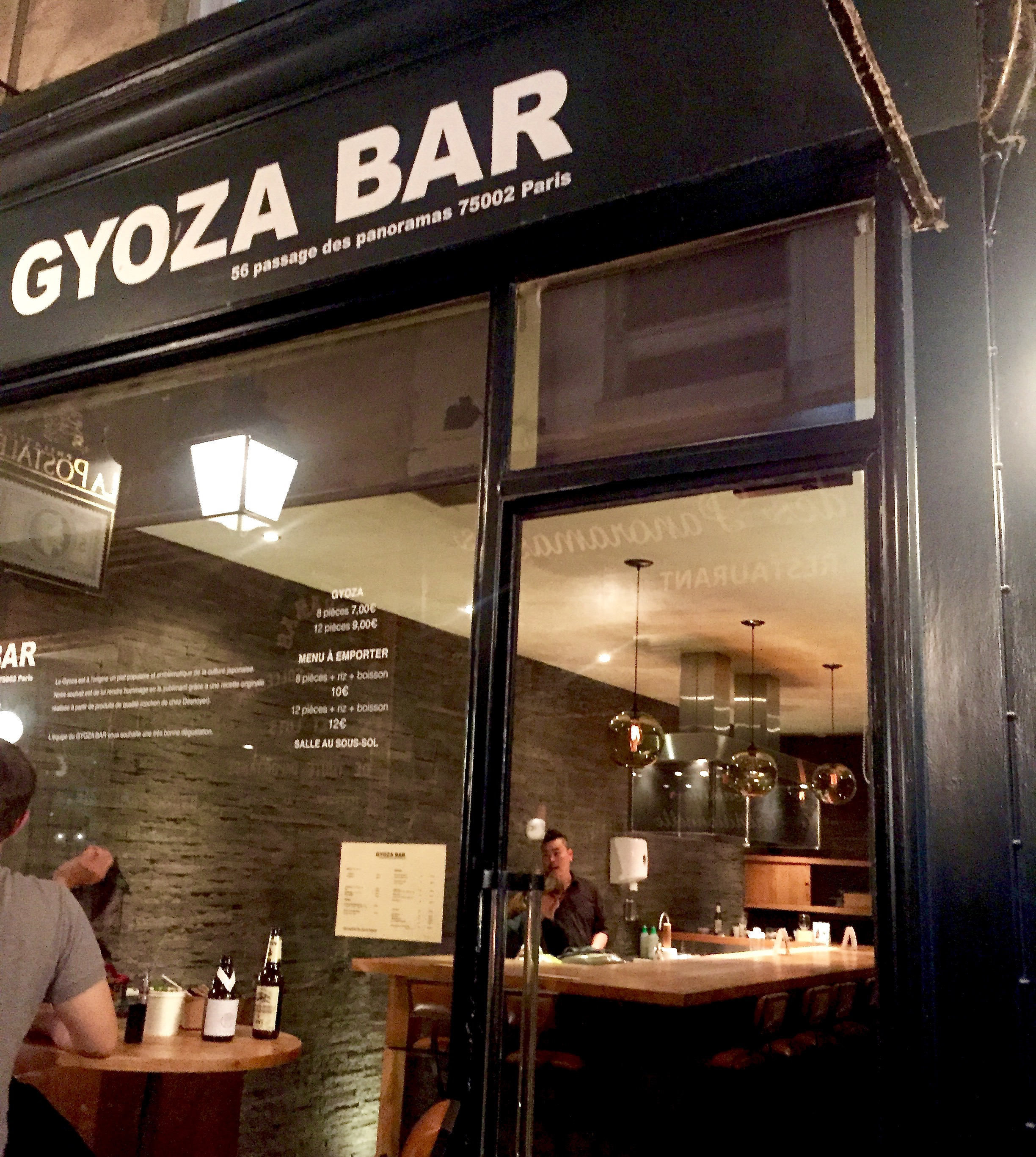 gyoza bar paris france food fashionista. Black Bedroom Furniture Sets. Home Design Ideas