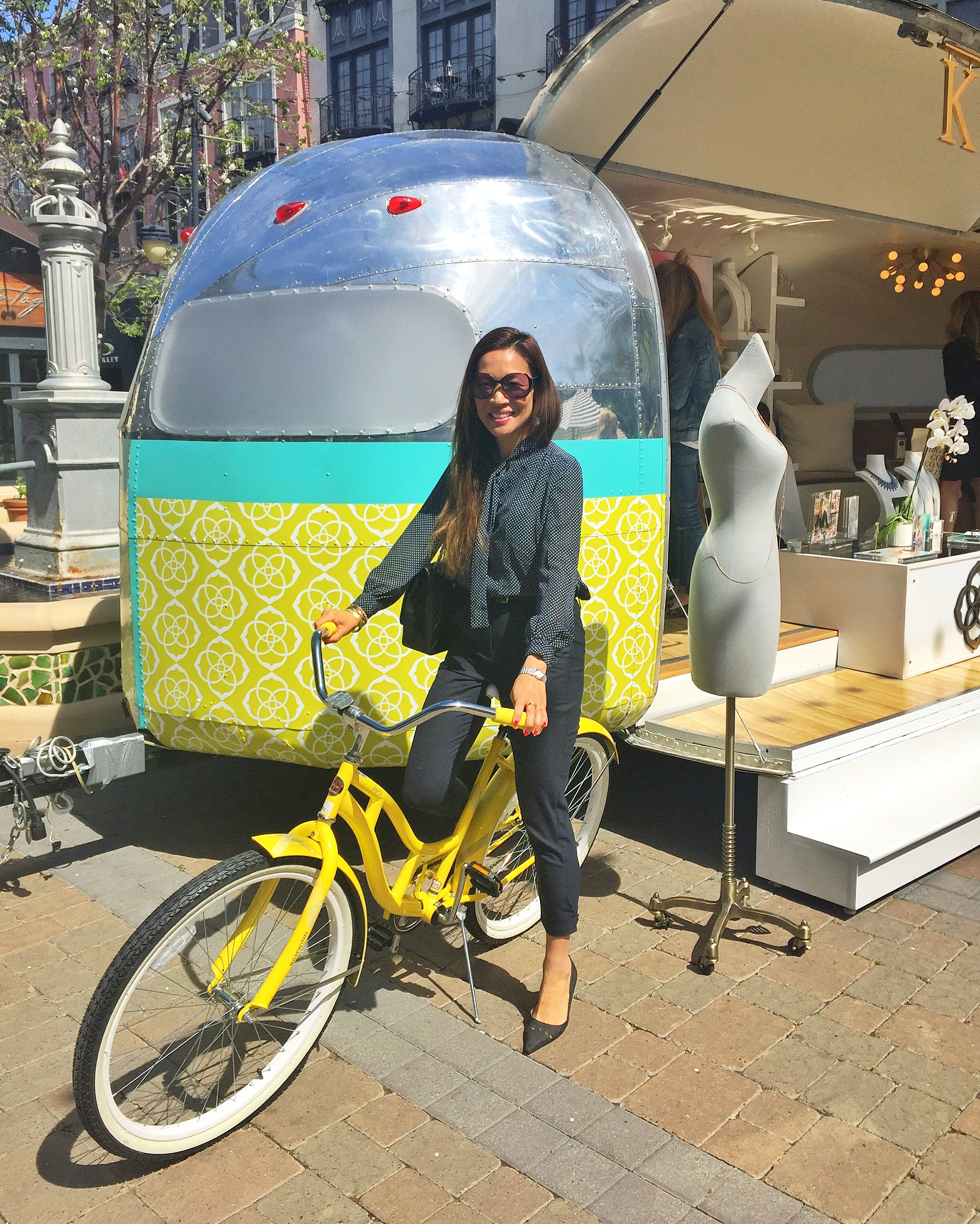 Mika Takeuchi - Food Fashionista Santana Row Kendra Scott