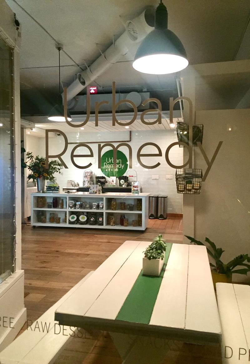 Urban Remedy Vegan San Francisco