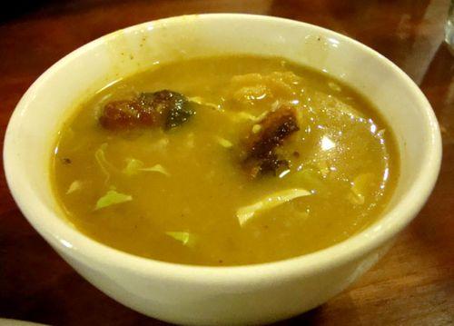 Burma superstar samusa soup