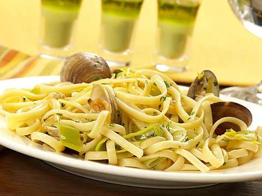 Barilla Linguine and Clams