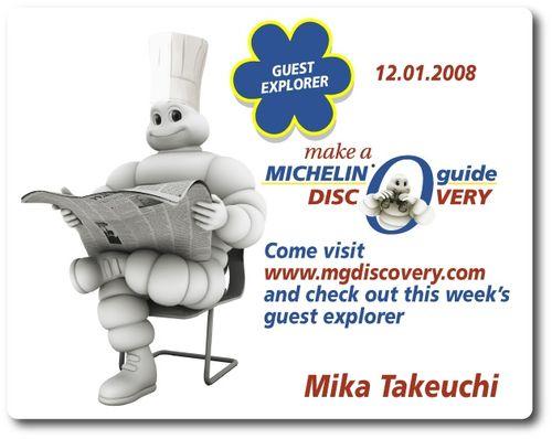 Mika Takeuchi Michelin