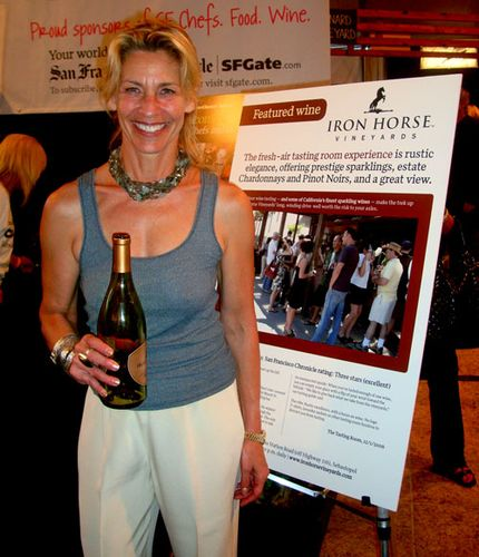 Joy Sterling of Iron Horse Vineyards