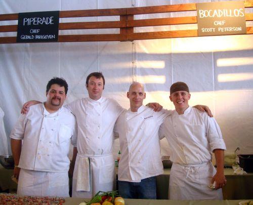 Chefs Piperade Bocadillos