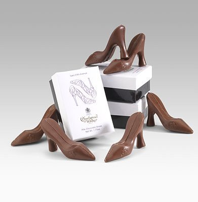 Chocolate shoes saks