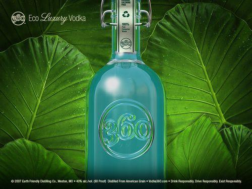 360 vodka eco