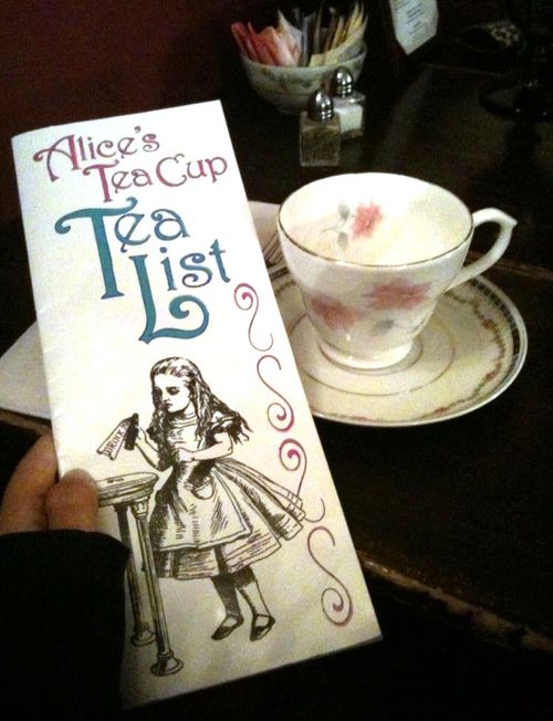 alices tea cup menu
