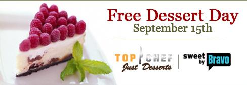 Free Dessert Day Top Chef