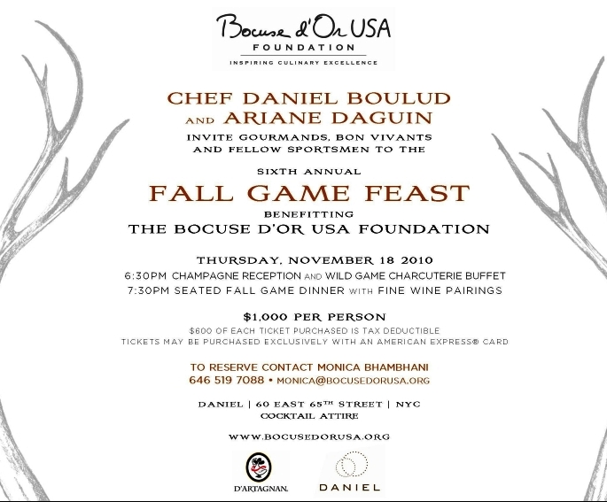 Daniel boulud bocuse d'or 2