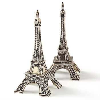 Eiffel tower salt pepper food fashionista