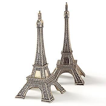 Eiffel tower salt pepper food fashionista