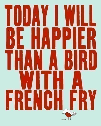 Bird-with-french-fry