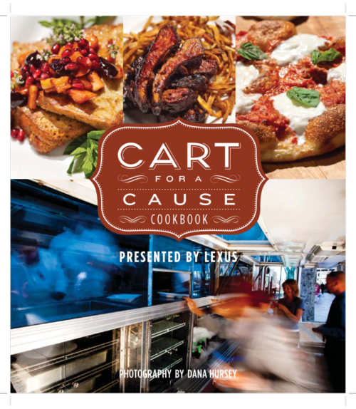 Cart for a cause=cookbook