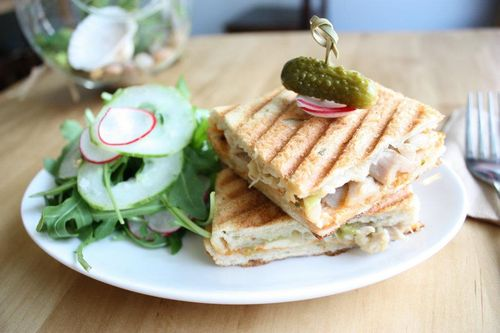 Cassava Chicken Panini