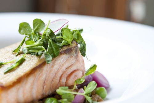 Burritt Tavern_Pan Seared Scottish Salmon_Credit Aubrie Pick