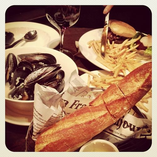 Food fashionista - grand cafe san francisco
