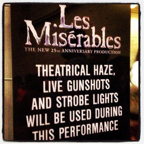 Les miserables 25th anniversary orpheum theatre
