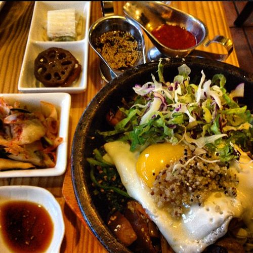 Dolsot bibimbap - be bop - food fashionista